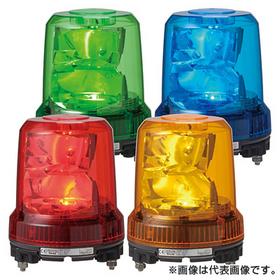 強耐振大型パワーLED回転灯 【平日15時まで当日発送】RLR-M2-R (AC90V~AC250V/赤) (RLR-M2-R)