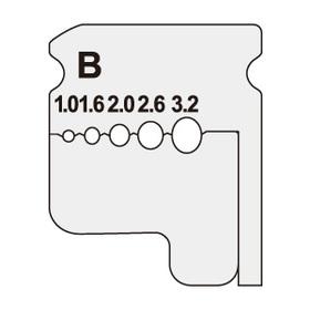 ワイヤーストリッパー替刃 [DB-132KP] (DB-132KP)