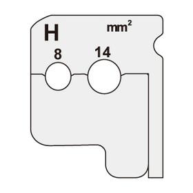 ワイヤーストリッパー替刃 [DIV-814KP] (DIV-814KP)