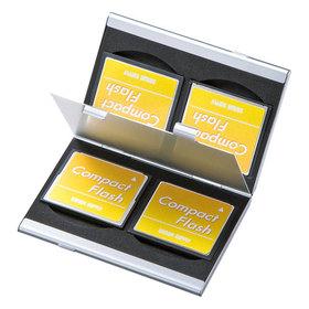 アルミメモリーカードケース(CFカード用・両面収納タイプ) アルミメモリーカードケース(CFカード用・両面収納タイプ)