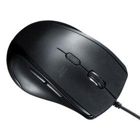 静音有線ブルーLEDマウス(5ボタン・左手用) 静音有線ブルーLEDマウス(5ボタン・左手用)