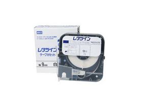 レタツイン用テープカセット 【平日15時まで当日発送】LM-TP309W 白 (9mm幅/8m巻)