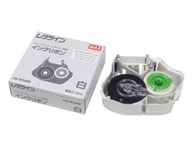 レタツイン用インクリボンカセット 【在庫僅少】LM-IR340W 白 (32m巻)