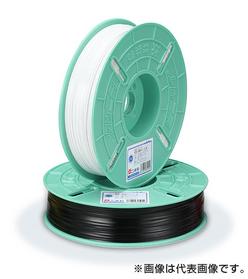 装飾結束用ビニタイ 実用タイプ (PVC) 白 (4mm幅×600m巻)