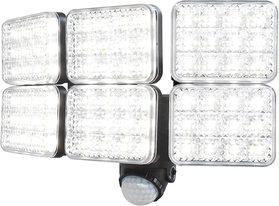 LEDソーラーセンサーライト 6灯式 [DLS-10T600]