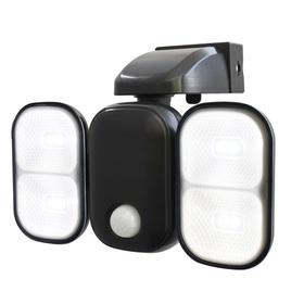 充電式センサーライト 2灯式
