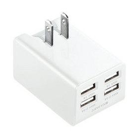 USB充電器 ホワイト