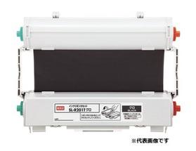 CPM-200専用詰め替え式インクリボン(カセット付き) SL-R203Tアカ