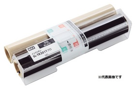 CPM-200専用詰め替え式インクリボン(カセットなし) SL-TR203Tアカ