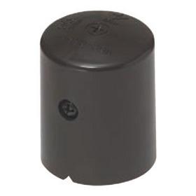 保護キャップ ワンタッチボルトカバー(コーキングタイプ) チョコレート(12個入)