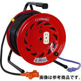 延長コード型ドラム(びっくリール) 30m 電工ドラム RND-30S 屋内型