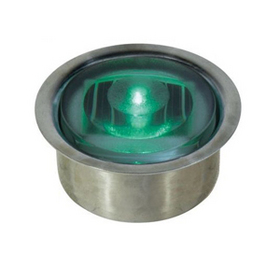 ソーラーLEDシリンダー50【点灯】 GF-OG-SUS ソーラーLEDシリンダー50【点灯】ステンレスケース付 緑