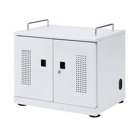 【メーカー直送品・代引不可】 タブレット収納キャビネット (20台収納)