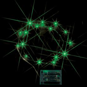 LEDミニストリングライト(電池式) 緑