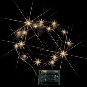 LEDミニストリングライト(電池式) 電球色