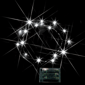 LEDミニストリングライト(電池式) 白