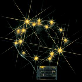 LEDミニストリングライト(電池式) 黄