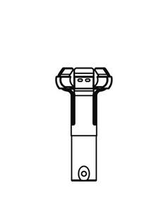 ランプチェンジャーキャッチヘッド φ50( レフランプミニ用)