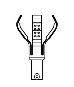 ランプチェンジャーキャッチヘッド φ100~110(レフランプ用)