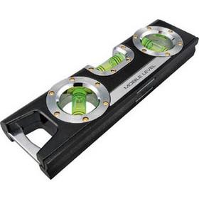 水平器 モバイルレベル 黒 160mm