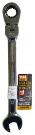 首振り72角コンビネーションギアレンチ 12mm 首振り72角コンビネーションギアレンチ 12mm (TRG-12F)