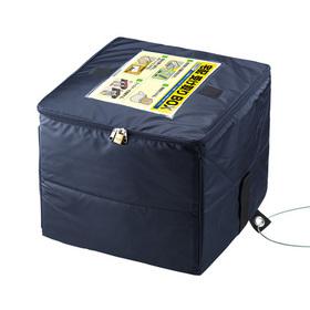 宅配ボックス折りたたみ式60ℓサイズ(ネイビー) [DB-BOX2]