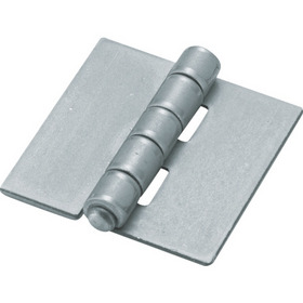 D金物 スチール製特厚溶接蝶番 全長153mm (2個入)【2335930】